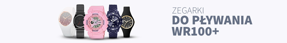 2 Zegarki Damskie Do Pływania Wr100 + Marka: FOSSIL