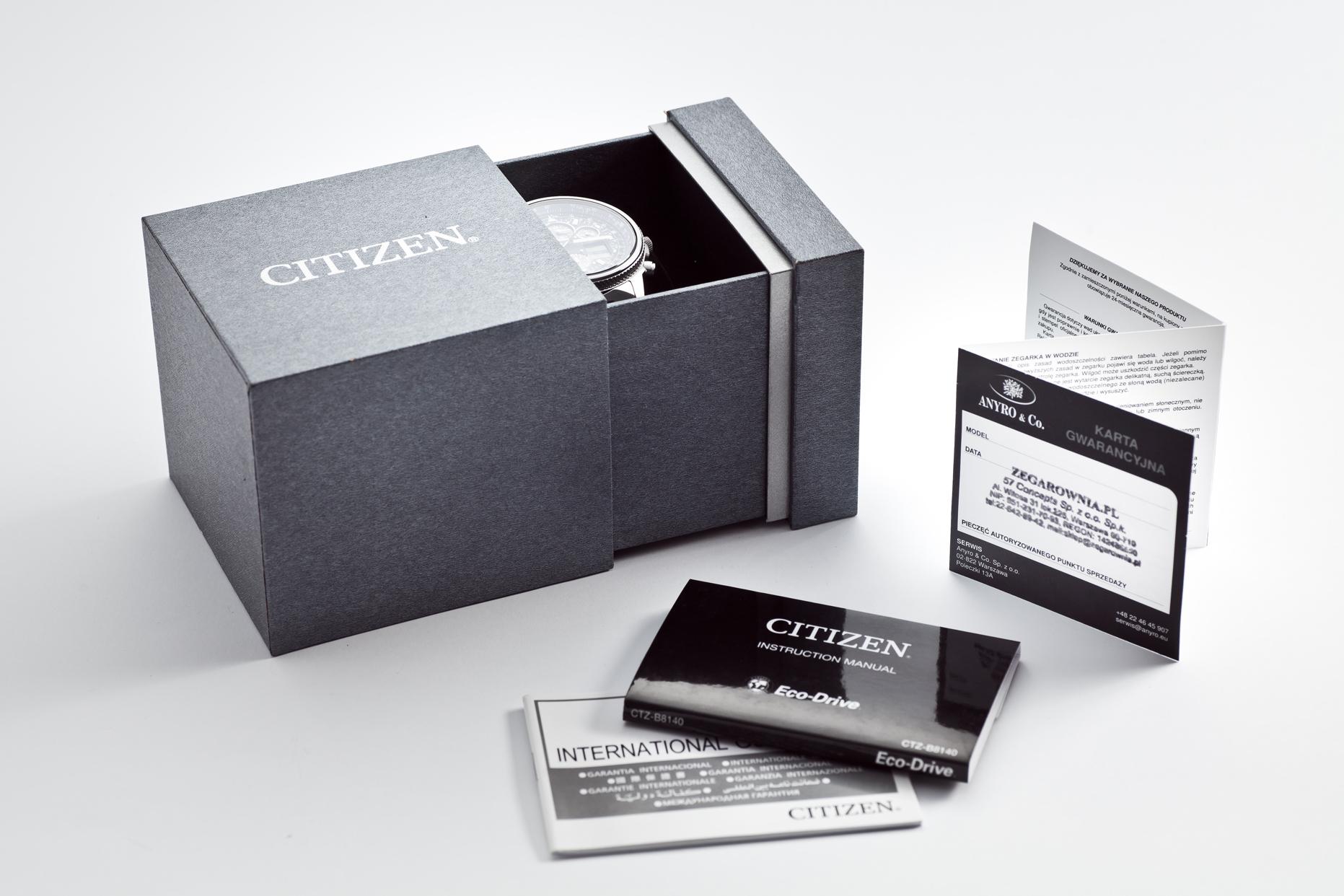 Pudełko Citizen