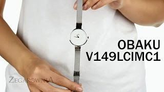 Zegarownia.pl OBAKU DENMARK CLASSIC DAMSKI Kod produktu: V149LCIMC1