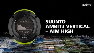Suunto Ambit3 Vertical - The Vertical Experience for Multisport