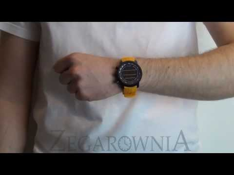 Zegarownia.pl ELEMENTUM TERRA AMBER RUBBER SS019172000