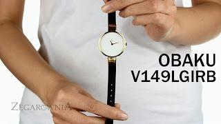 Zegarownia.pl OBAKU DENMARK CLASSIC DAMSKI Kod produktu: V149LGIRB