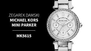 Zegarownia.pl ZEGAREK DAMSKI MICHAEL KORS MINI PARKER Kod produktu: MK5615