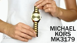 Zegarownia.pl MICHAEL KORS SLIM DAMSKI Kod produktu: MK3179
