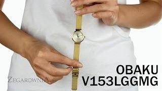Zegarownia.pl OBAKU DENMARK CLASSIC Kod produktu: V153LGGMG