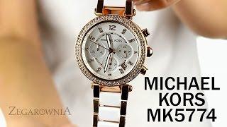 Zegarownia.pl ZEGAREK DAMSKI MICHAEL KORS PARKER Kod produktu: MK5774