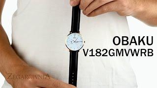 Zegarownia.pl OBAKU DENMARK CLASSIC MĘSKI Kod produktu: V182GMVWRB