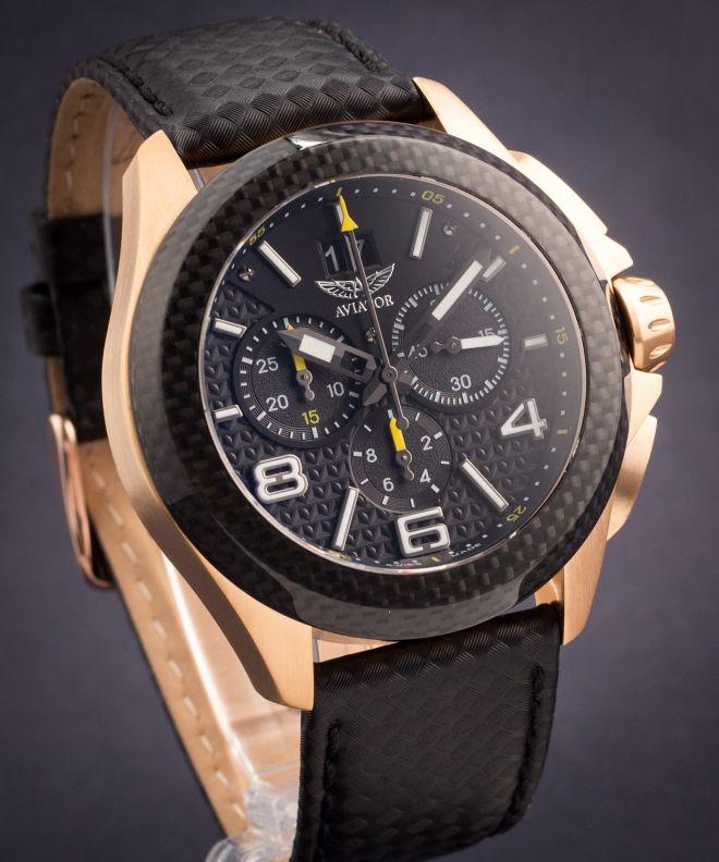 Zegarek męski Aviator Mig-35 Chrono
