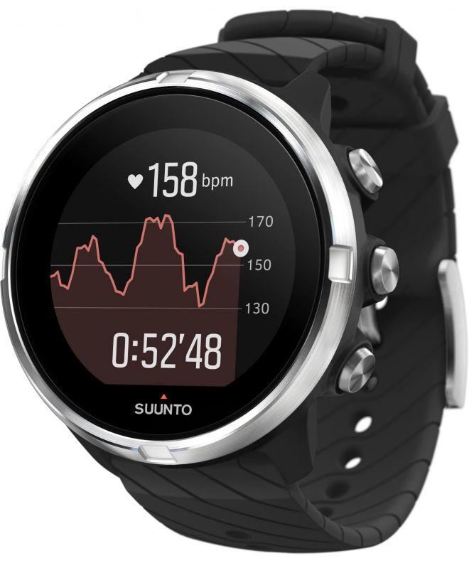 Zegarek Suunto 9 Black Wrist HR GPS SS050142000