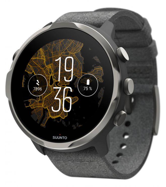 Zegarek smartwatch Suunto 7 Graphite SET Limited Edition Wrist HR GPS SS050595000