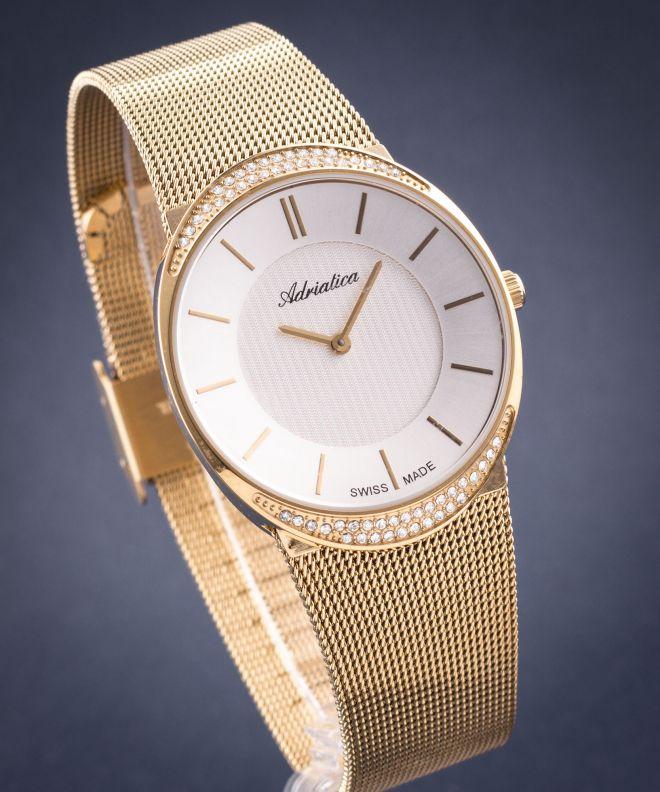 adriatica zegarek damski bransoletą
