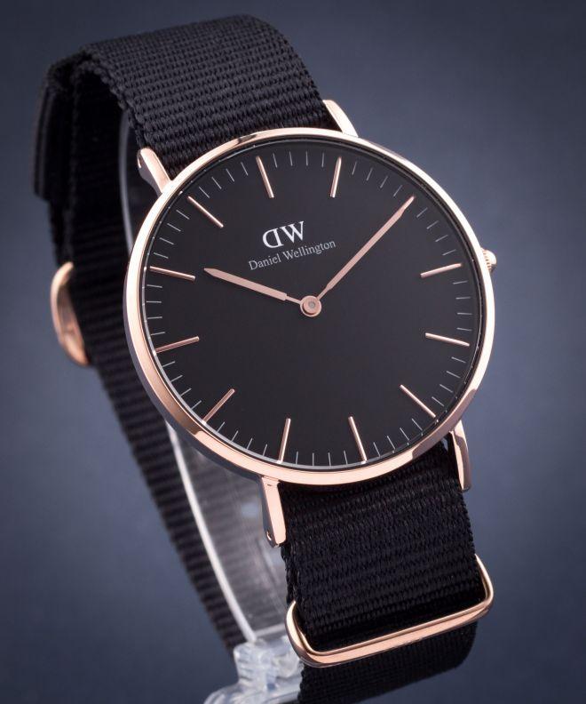 Zegarek damski Daniel Wellington Classic Black Cornwall