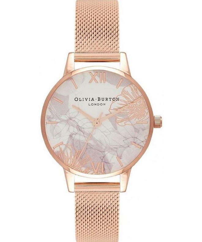Zegarek damski Olivia Burton Abstract Florals OB16VM11