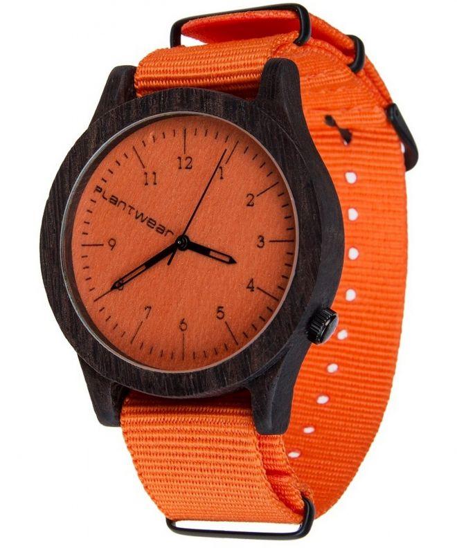 Zegarek Plantwear Heritage Orange Edition Heban 5904181500111