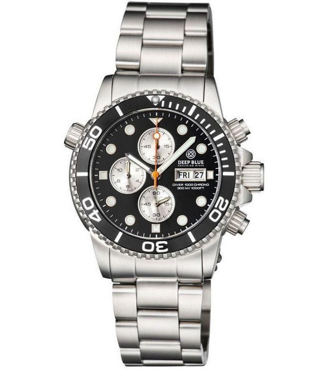 Zegarek Deep Blue Diver Chronograph