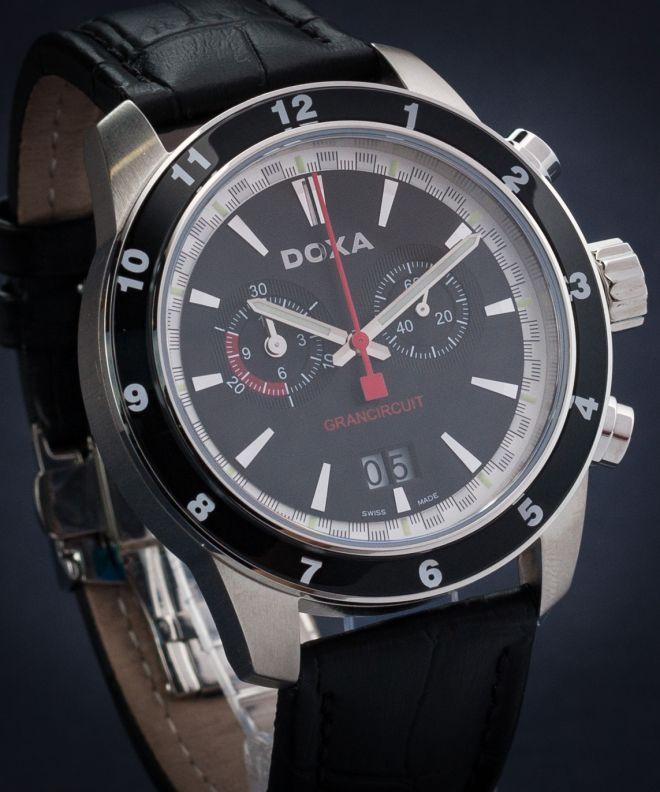 Zegarek męski Doxa Quartz Grancircuit