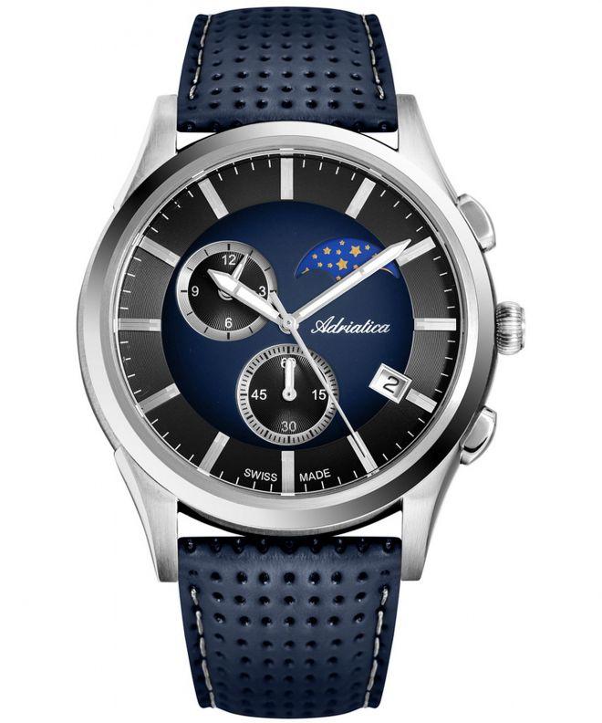 Zegarek męski Adriatica Multifunction Chronograph A8282.5215CH
