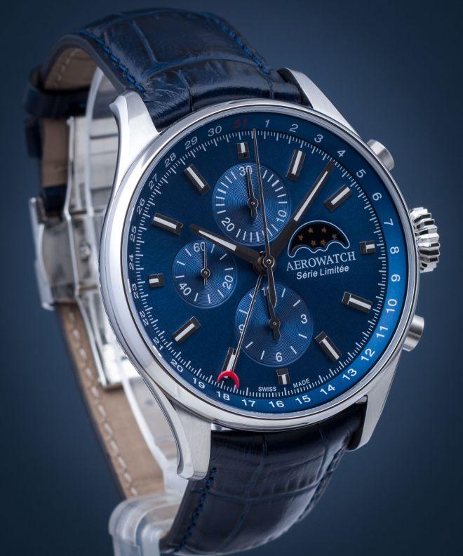 Zegarek męski Aerowatch Les Grandes Classiques Chronograph Automatic Limited Edition 69989-AA03