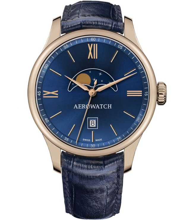 Zegarek męski Aerowatch Renaissance Moon Phase 08985-RO01