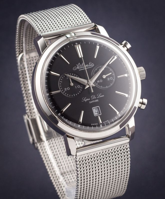 Zegarek męski Atlantic Super De Luxe