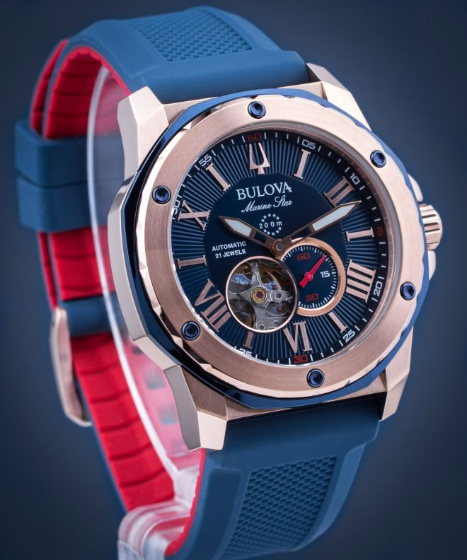 zegarek bulova męski niebiski