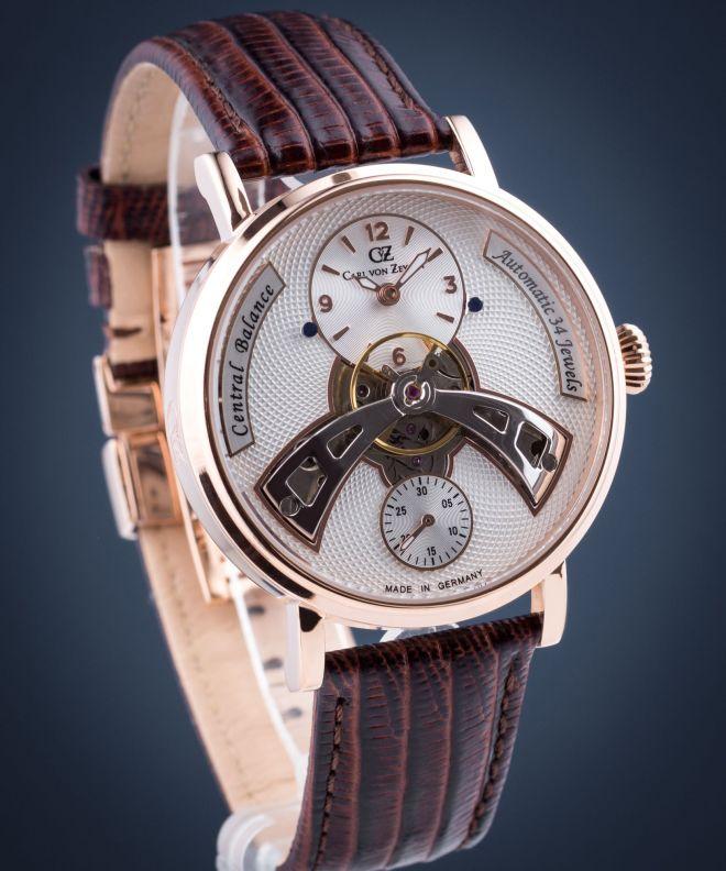 Zegarek męski Carl von Zeyten Baden-Baden Automatic CVZ0042RWH