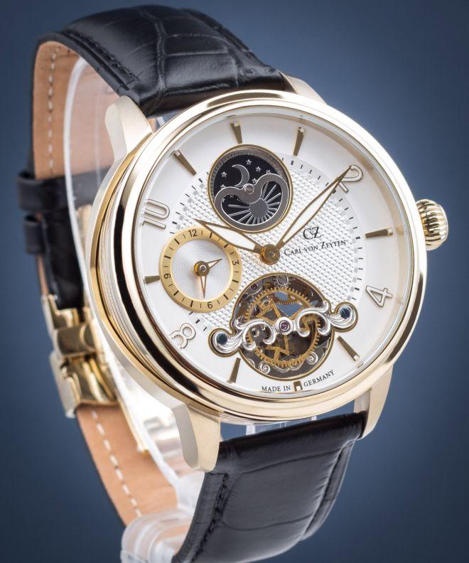 Zegarek męski Carl von Zeyten Calw Automatic  CVZ0046GWH