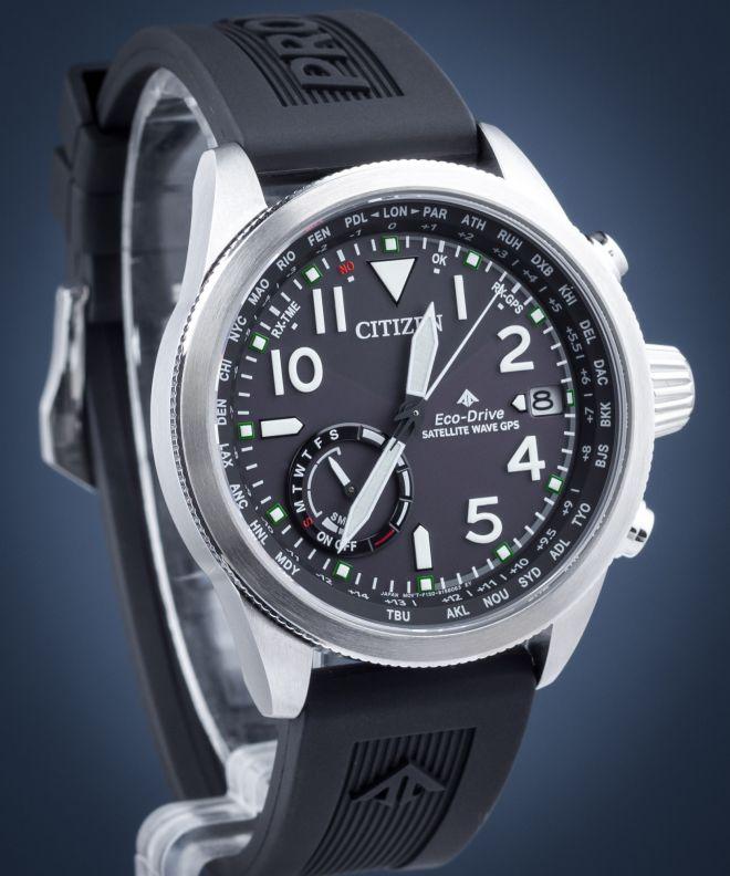 1f1649c093331c Zegarek męski Citizen Promaster Satellite Wave GPS Eco-Drive - CC3060-10E