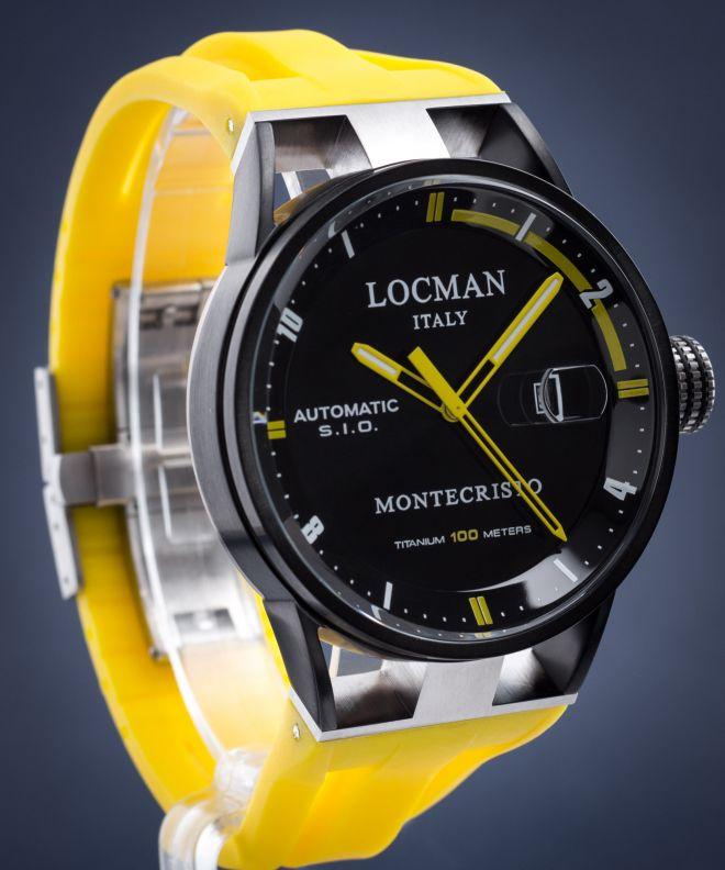Zegarek męski Locman Montecristo Automatic 0511BKBKFYL0GOY