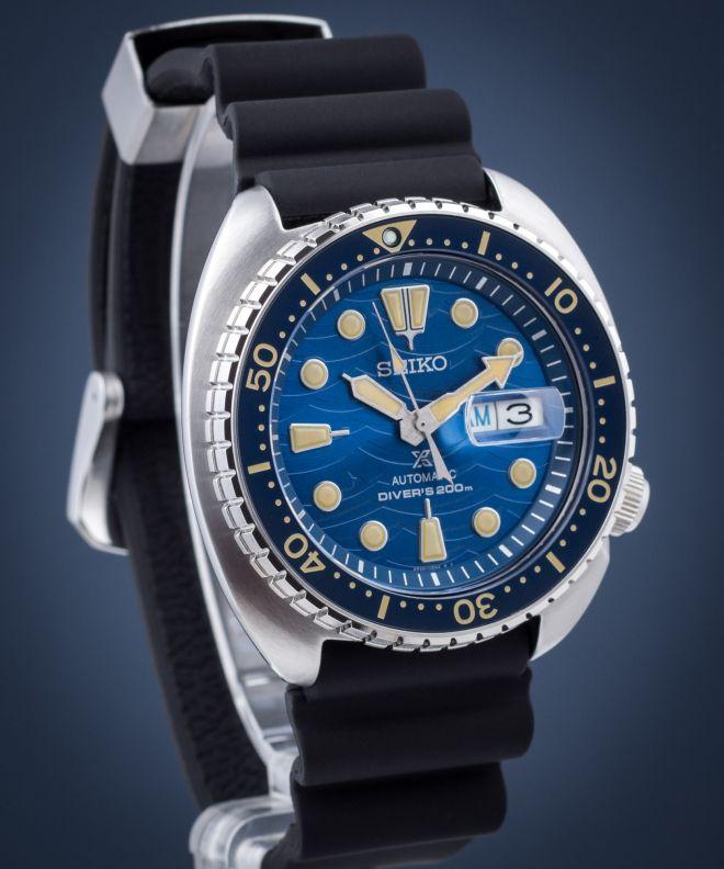 Zegarek męski Seiko Prospex Turtle Save The Ocean Diver Special Edition Automatic SRPE07K1