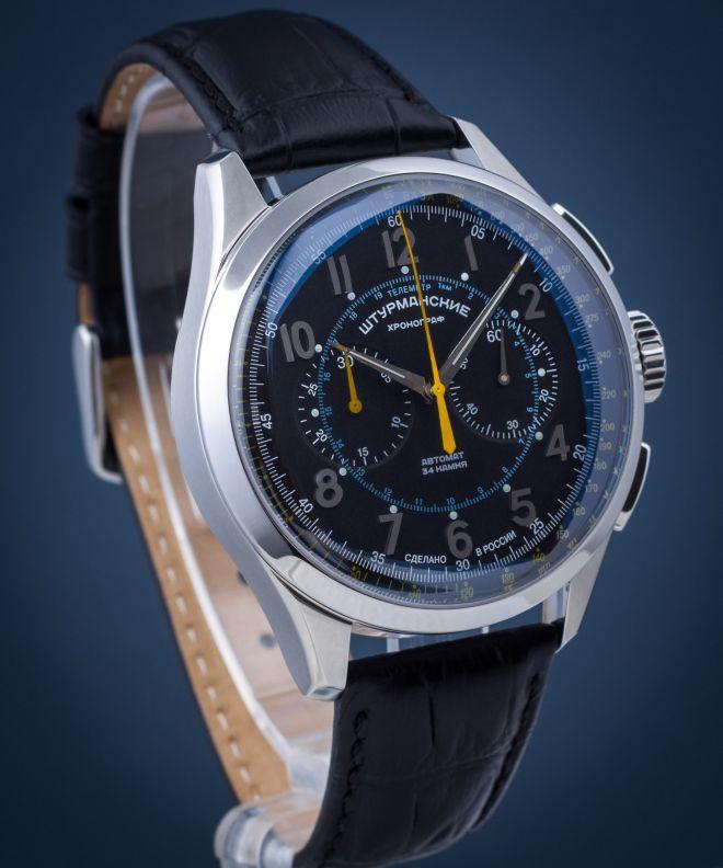 Zegarek męski Szturmanskie Open Space Chronograph Automatic NE86-1855015