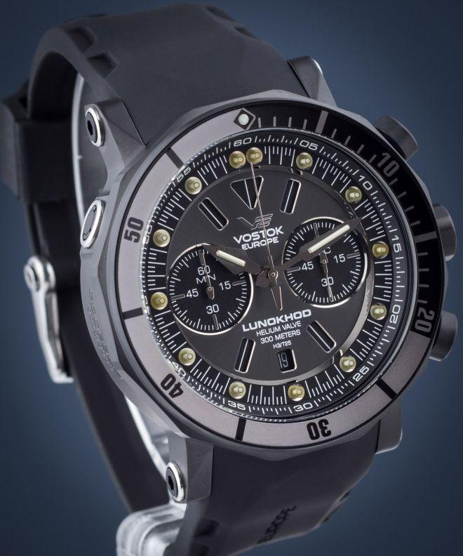 Zegarek męski Vostok Europe Lunokhod 2 Grand Chrono 6S21-620E529
