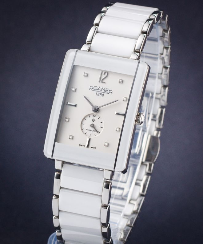 Zegarek damski Roamer Ceraline Square Diamond
