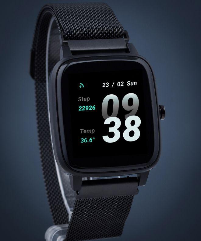 Zegarek Strand by Obaku Smartwatch S716USBBMB