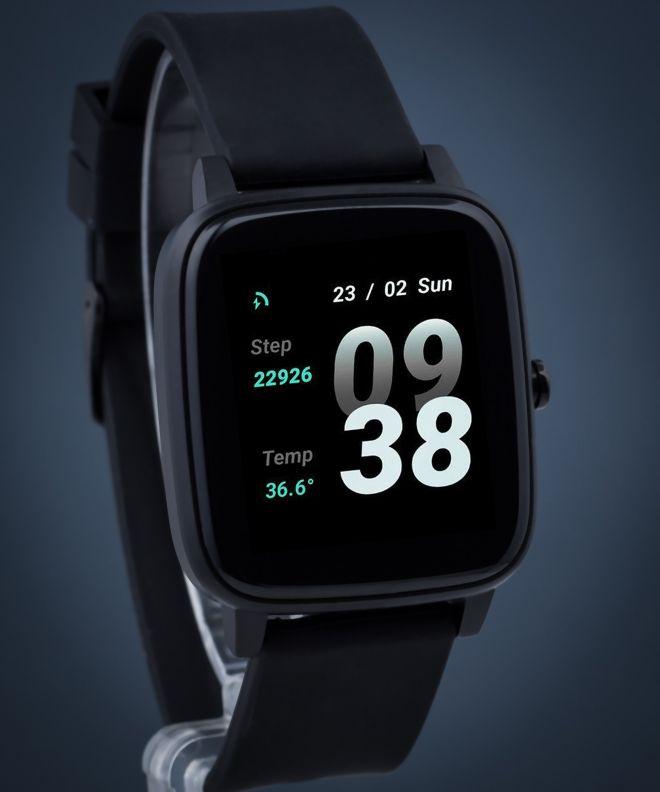 Zegarek Strand by Obaku Smartwatch S716USBBVB