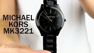 Zegarownia.pl ZEGAREK DAMSKI MICHAEL KORS SLIM RUNWAY Kod produktu: MK3221