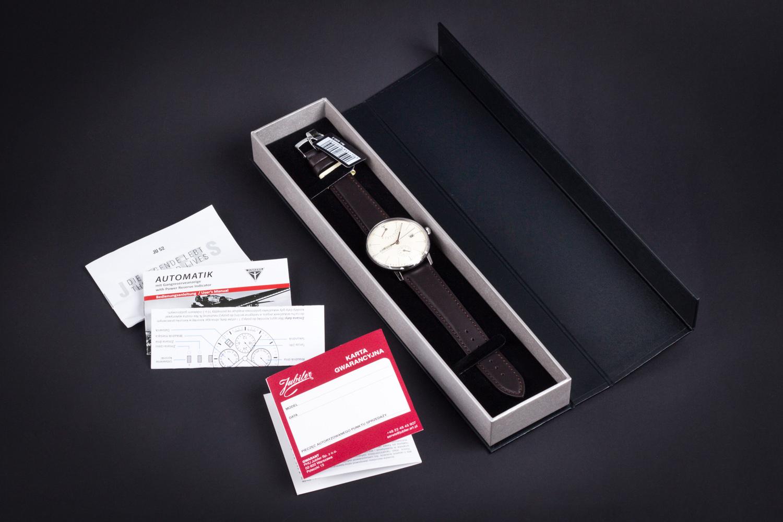 Pudełko i gwarancja Junkers
