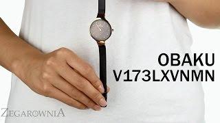 Zegarownia.pl OBAKU DENMARK CLASSIC DAMSKI Kod produktu: V173LXVNMN