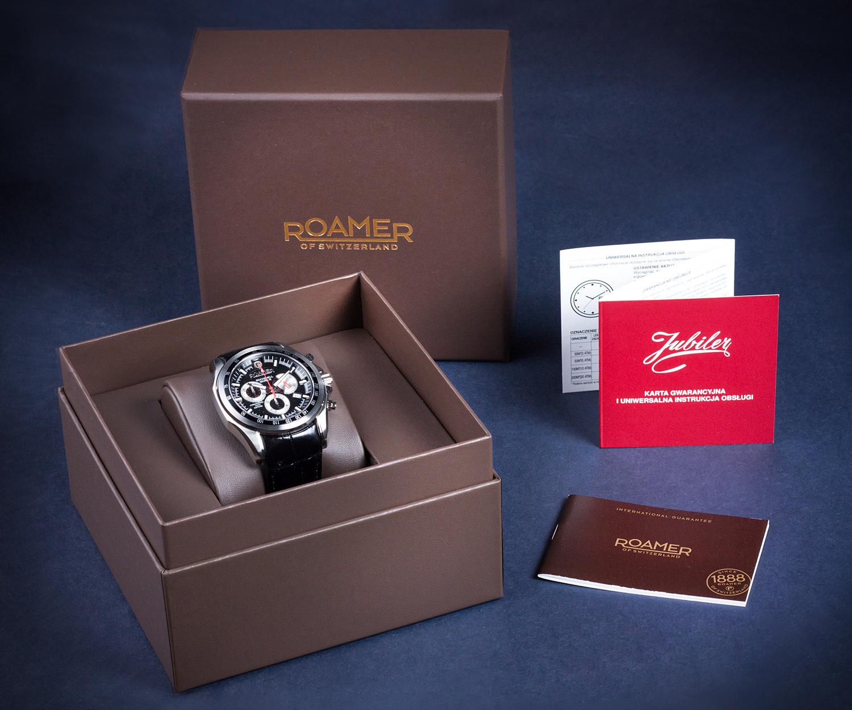 Gwarancja i pudełko Roamer Searock Pro Swiss Made Automatic