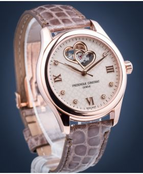 Zegarek damski Frederique Constant Double Heart Automatic