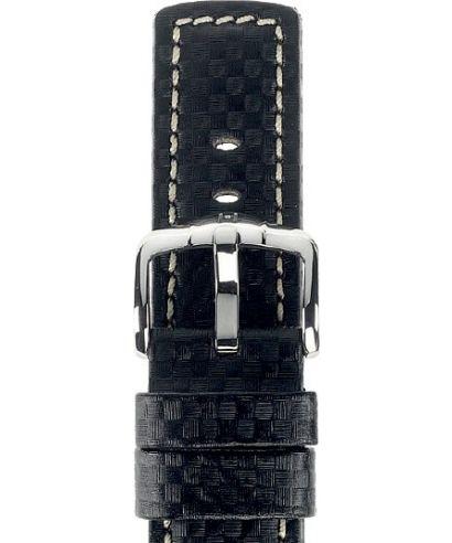 Pasek Hirsch Carbon 100m-WR L 22 mm