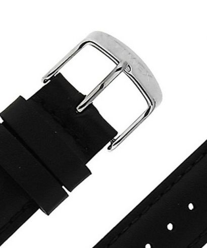 Pasek Timex Black Leather 20 mm