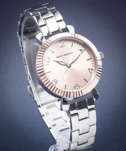 Zegarek damski Mark Maddox Pink Gold