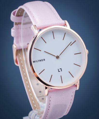 Zegarek damski Millner Hallfield Golden Pink