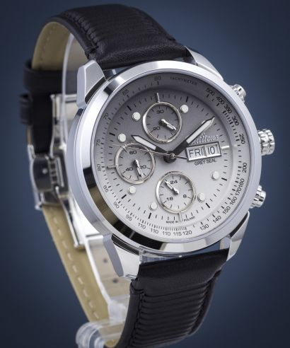 Zegarek męski Balticus Grey Seal Chrono Limited Edition