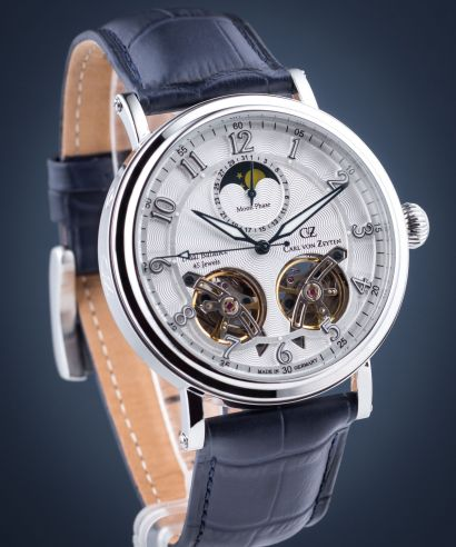Zegarek męski Carl von Zeyten Murg Twin Balance Automatic