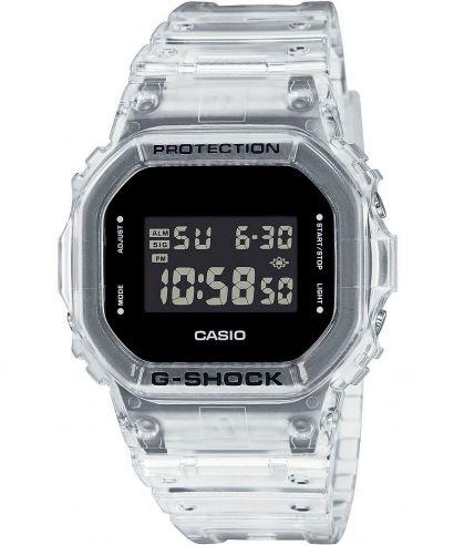 "Zegarek Casio G SHOCK Super Clear Skeleton Limited Edition ""Kostka"""