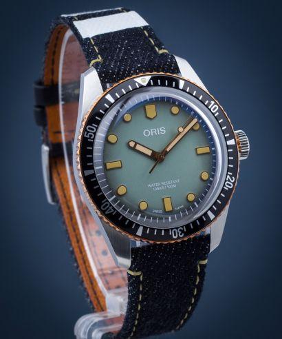 Zegarek męski Oris Divers Sixty Five X Momotaro