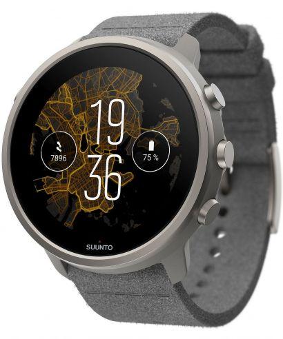 Smartwatch męski Suunto 7 Titanium Stone Gray