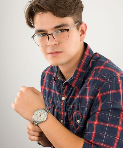 Zegarek męski Timex Waterbury World Time IQ
